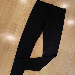 mossimo high waist stretch black leggings small